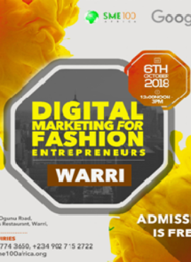 Highlights Of Google Digital Marketing Training Held For Fashion Entrepreneurs In Warri