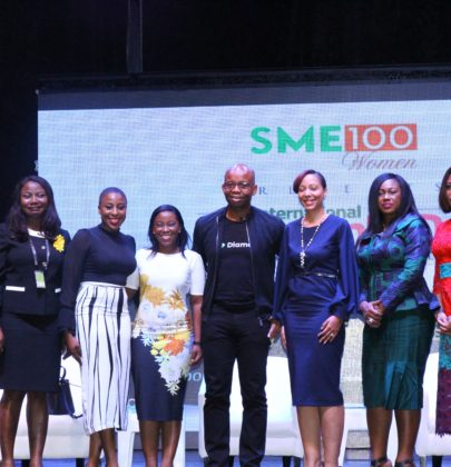Uzoma Dozie; CEO of Diamond Bank, Omotola Jalade Ekeinde, Bolanle Austin Peters; Founder/MD of Terra Kulture and others inspire SME women at the International Women's Day Conference 2018