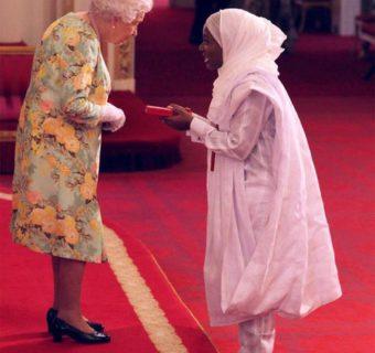 Queen Elizabeth Honours Hauwa Ojeifo