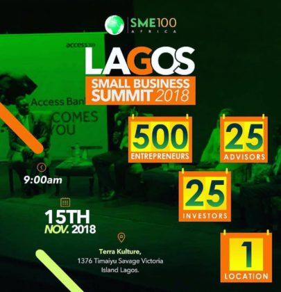 LAGOS SMALL BUSINESS SUMMIT 2018 PRESS RELEASE