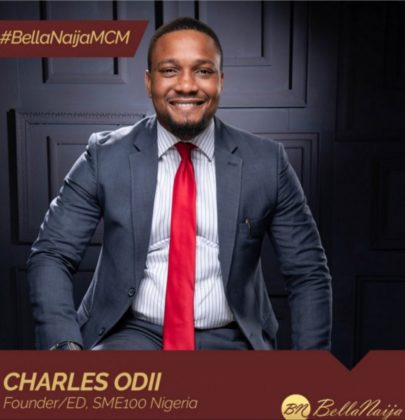 How #BellaNaijaMCM Charles Odii of SME100Africa is Equipping & Empowering Young Entrepreneurs