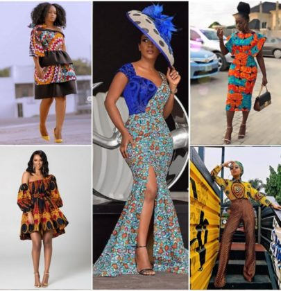 ANKARA STYLES FOR THE WEEKEND..