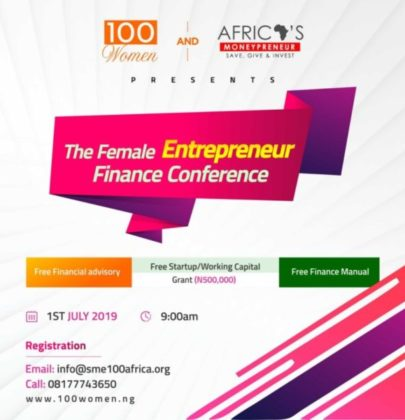 Female Entrepreneur Finance Conference