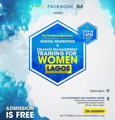 SheMeansBuiness Digital Marketing & Finance management training