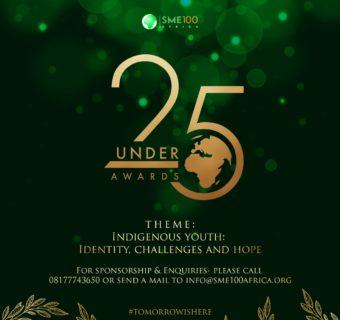 """25 under 25"" Awards 2020 Nomination Portal Now Open"