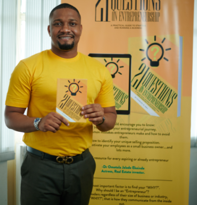 CHARLES ODII RELEASES A NEW BOOK; 21 QUESTIONS ON ENTREPRENEURSHIP