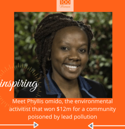 INSPIRED; Meet phyllis omido, The environmental activist that won $12m for a community poisoned by lead pollution