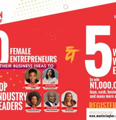 "Nigeria's First Virtual Pitch Competition For Female Entrepreneurs ""Mentoring Her Pitchathon"" is Set to Hold This Weekend