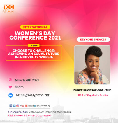 100Women International Women Conference, 2021