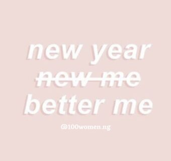 New Year, New Me?