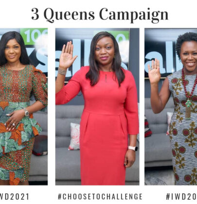 International Women's Day: 3 Queens Campaign Special