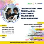 Registration For Digital Sales And Financial Management Training Is Now Open!!